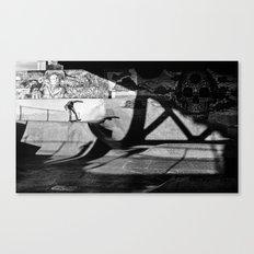 Burnside Skate Park Canvas Print