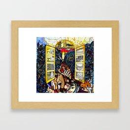 Unleashing Grace Framed Art Print