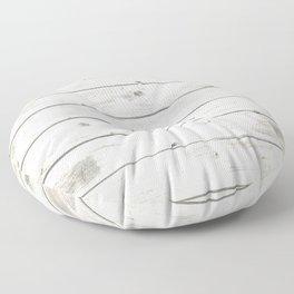 Light Natural Wood Texture Floor Pillow