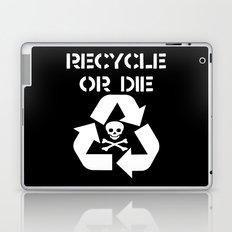 Recycle White Laptop & iPad Skin