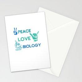 Hippie Biologist Stationery Cards