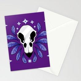 Bird Skull Stationery Cards
