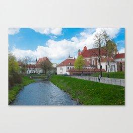 Vilnius Canvas Print