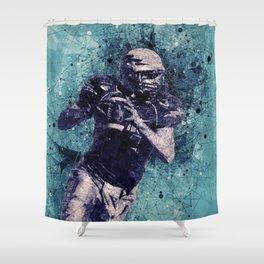 Football Player Shower Curtain