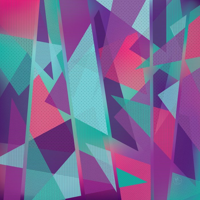 Geometric Abstraction Comforters