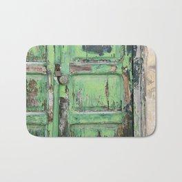 Old Door Bath Mat