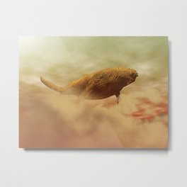 The Rusty Whale Metal Print