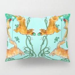Golden Retrievers at Play Pillow Sham