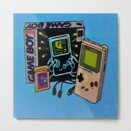 game boys Metal Print