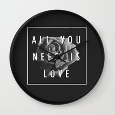 Needy Wall Clock