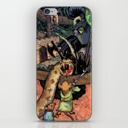 Bravery in Sandstone iPhone Skin