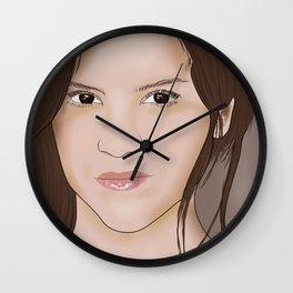 Victoria Moroles Wall Clock