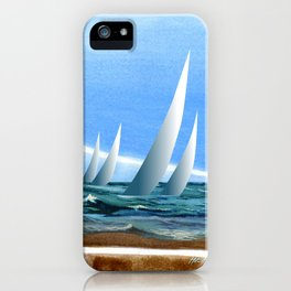 The Geology of Boating iPhone Case