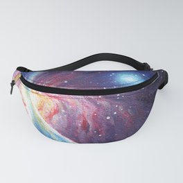 Galactic magnetic field painting Fanny Pack