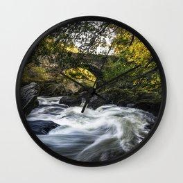 River Llugwy Wall Clock