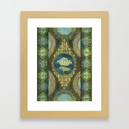 Lace Study #3 Framed Art Print
