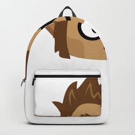 weremoji nerdy Backpack