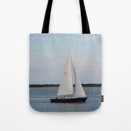 Nantucket Sail boat Tote Bag