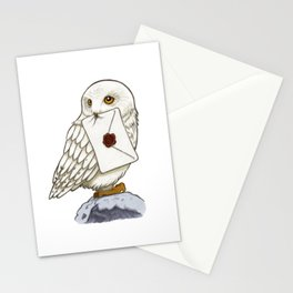 Hedwig Owl with Message Stationery Cards