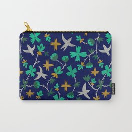 Birds of freedom / Blue Carry-All Pouch