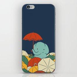 Umbrellaphant iPhone Skin