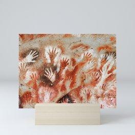 Cave Art Lascaux Hands Mini Art Print
