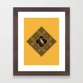 Loyalty - House Crest Framed Art Print