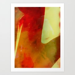 untitled #0029 (red one) Art Print