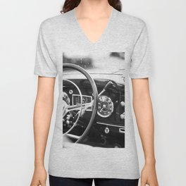 Classic Car Interior Unisex V-Neck