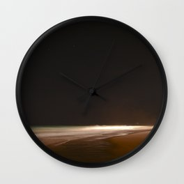 Ocean Night. Wall Clock