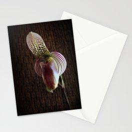 Mutant Ninja Slipper Orchid Stationery Cards