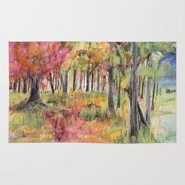 Autumn Woodlands Rug