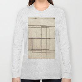 Toner Lines on Paper Long Sleeve T-shirt