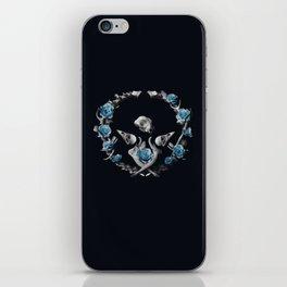 Bones are Blue iPhone Skin