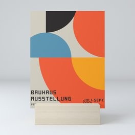 Vintage poster-Bauhaus Ausstellung 1923. Mini Art Print