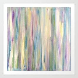 Pastel Stripe Art Print