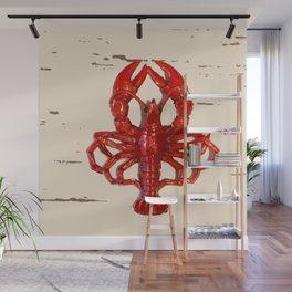 Lobster love Wall Mural
