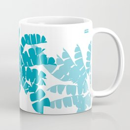 GENTIAN BLUE: speak truth to power  Coffee Mug