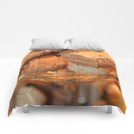 Glass Half Full Comforters