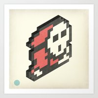 nintendo Art Prints featuring Nintendo #4 by Dabwood2