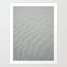 Natural wave patern Art Print