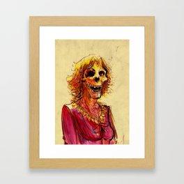 Zombie 1 Framed Art Print