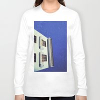 spanish Long Sleeve T-shirts featuring Spanish House by Martin Llado
