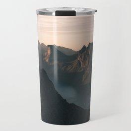 Norway Mountains Travel Mug
