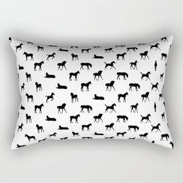 Foals All Over Pattern Rectangular Pillow