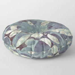 Background Metallic Ocean II Floor Pillow