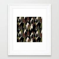 bears Framed Art Prints featuring BEARS by Kimsa