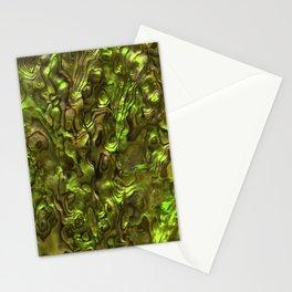 Abalone Shell | Paua Shell | Yellow Tint Stationery Cards