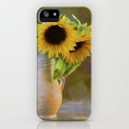 It's What Sunflowers Do - Flower Art iPhone Case