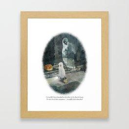 Behind You 30 Framed Art Print